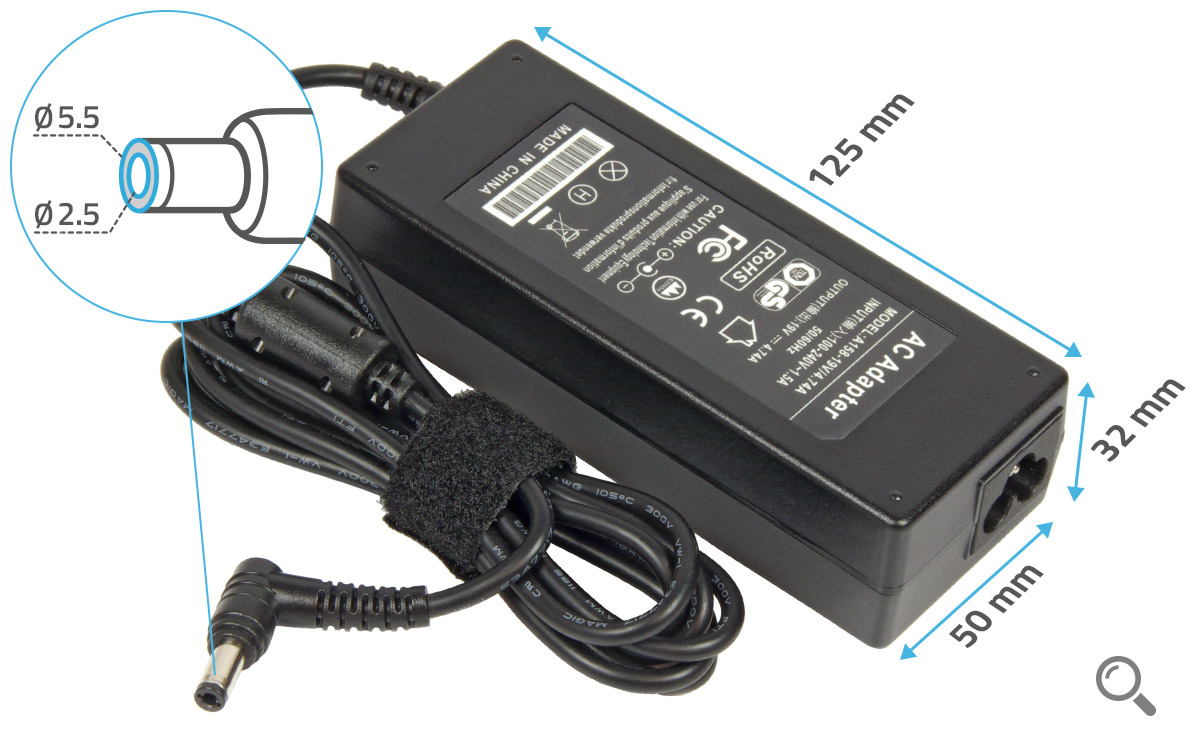 chargeur pc toshiba satellite l70